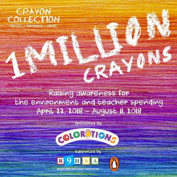 Crayon Collection challenge 1 million crayons