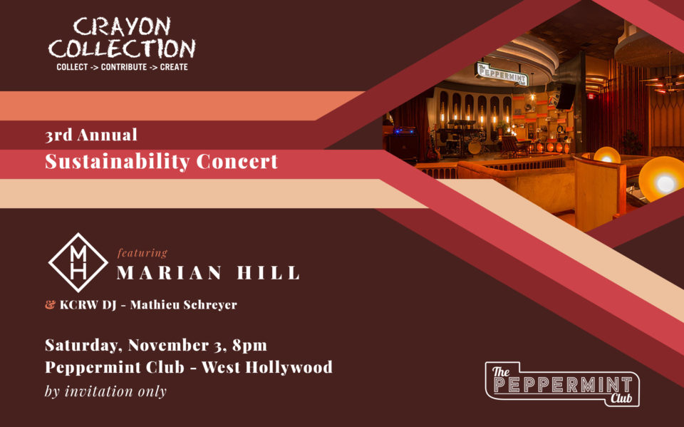 Crayon Collection - Marian Hill Charity Concert